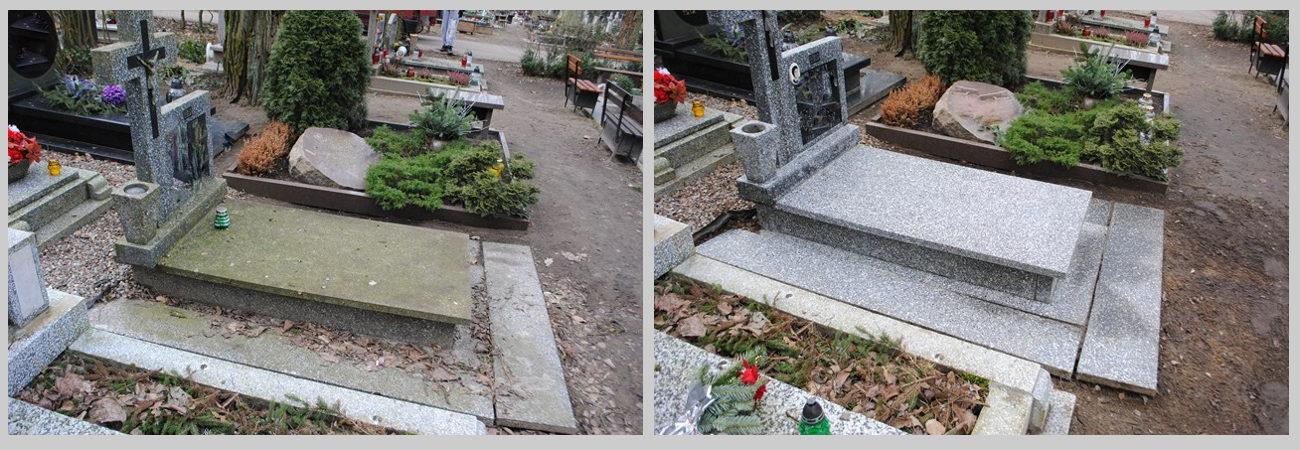 opieka nad grobami Szczecin, czyszczenie grobów