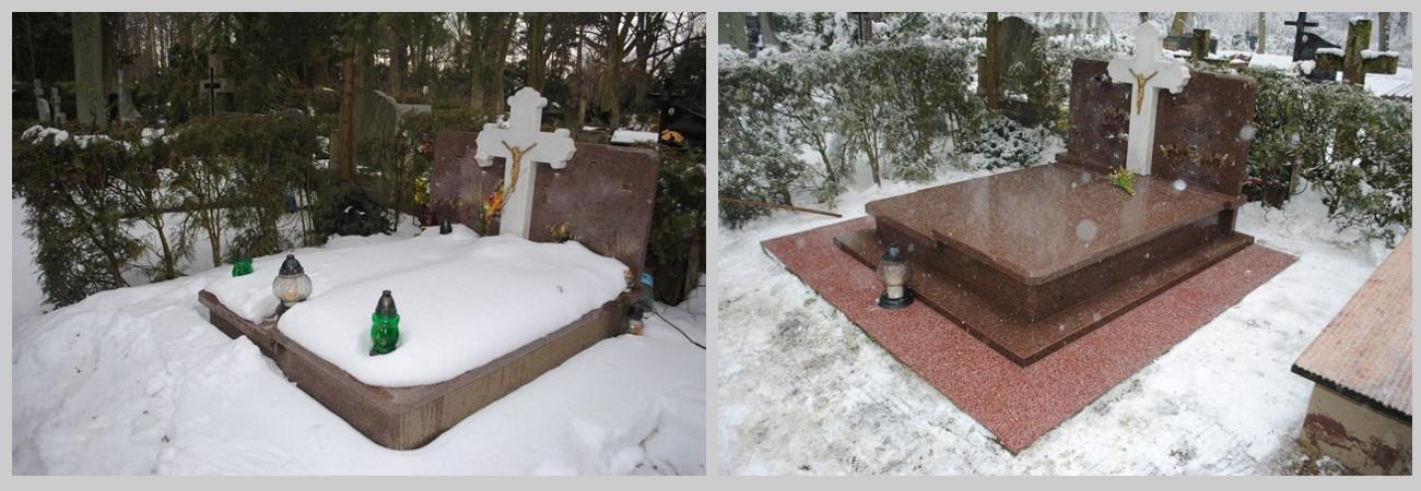 opieka nad grobami w Szczecinie, czyszczenie grobów
